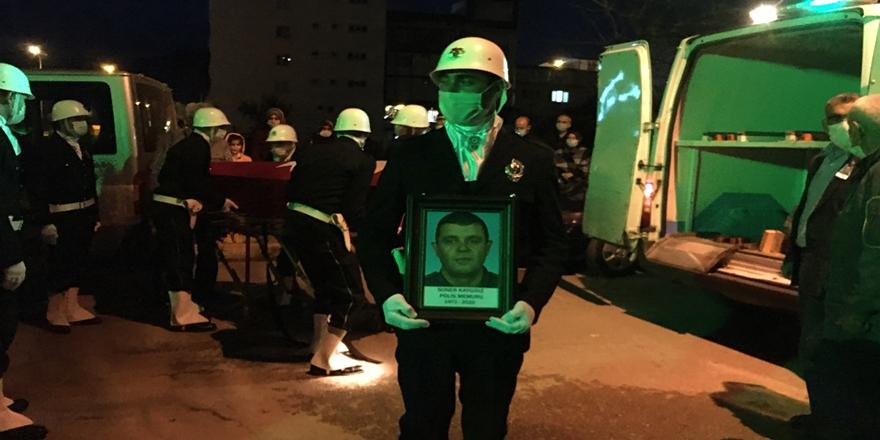 Mudanya'da Kalp Krizi Geçiren Polis Toprağa Verildi