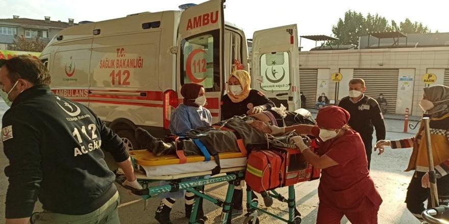 Bursa'da Kaza! Kamyonelektrikli bisiklete çarptı