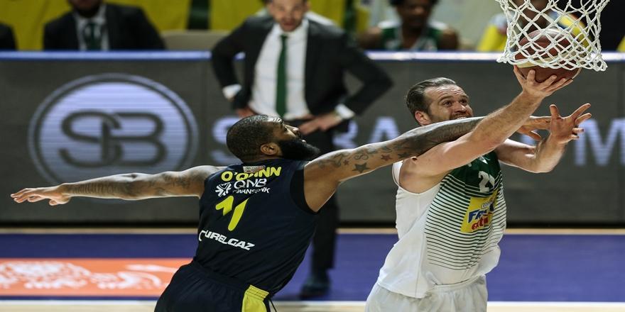 Ing Basketbol Süper Ligi: Frutti Extra Bursaspor: 82 - Fenerbahçe Beko: 77