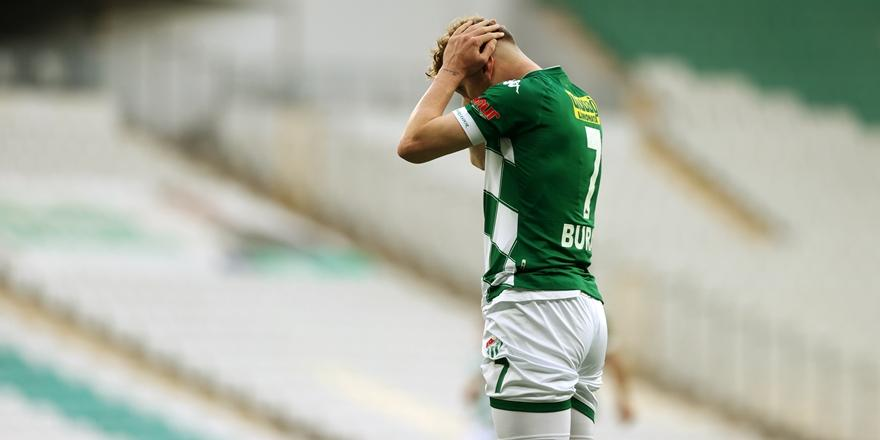 Tff 1. Lig: Bursaspor: 0 -Ankara Keçiörengücü: 3
