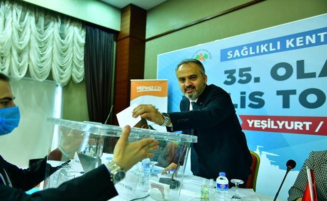 Alinur Aktaş Malatya'da Güven Tazeledi!