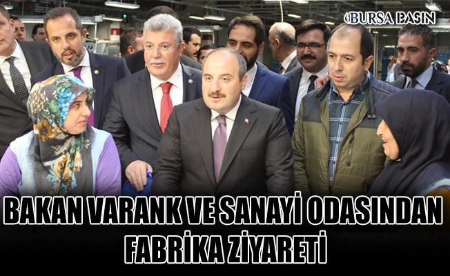 Bakan Varank'tan Bilecik Sanayi Odası İle Fabrika Ziyareti