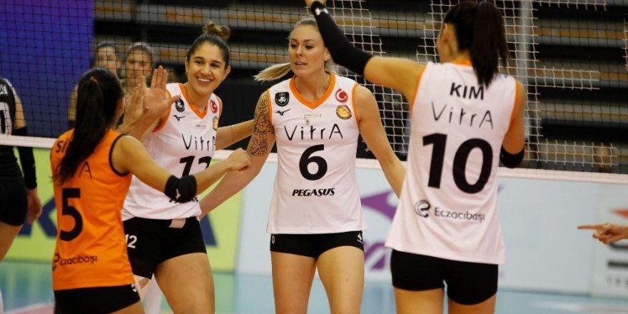 Vestel Venus Sultanlar Ligi: Eczacıbaşı Vitra: 3 - Beşiktaş: 0